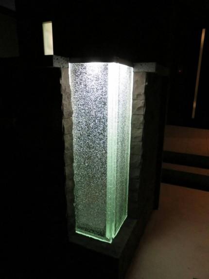 ライトアップ ガラス